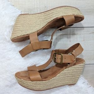 Lucky Brand Strappy Espadrille Sandals Wedges